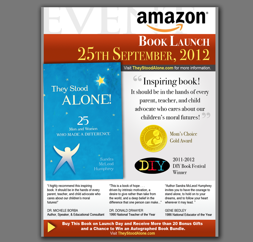 Amazon Book Launch